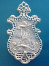 Monogram - Little  A.Z.  3 x 2,5 cm