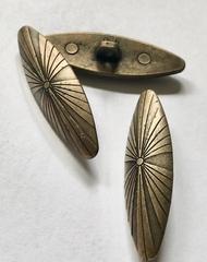 Antieke knoop  40 x 12 mm