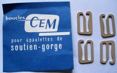 Sluitingen voor schouderbandjes  20 x 13 mm