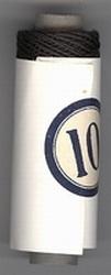 Katoendraad - zwart 10  6 cm hoog