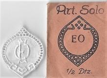 6 Monogrammen - E.O. - O.E  29 x 24 mm