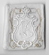 6 Monogrammen B.Z..  4,5 x 2,5 cm