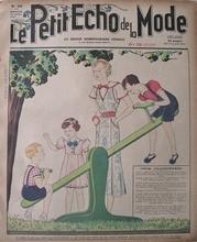 Le Petit Echo de la Mode  29 x 22 cm