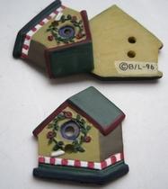 Vogelhaus  24 x 22 mm
