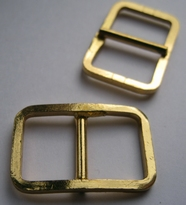 Gesp - goudkleur  20 x 29 mm