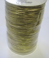 Elastic-Gold color 1 Meter  1,5 mm