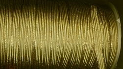 Elastiek-Goud (1mtr)  9 mm