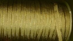 Elastiek-Goud (1mtr)  9 mm