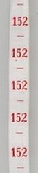 measure - ribbon  maat 152
