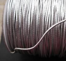 Elastiek-Zilver ( 3 mtr )  1,5 mm