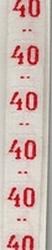 Band - rot  maat 40