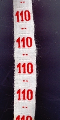 measure - ribbon  maat  110
