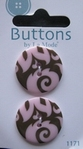 Buttons - By la Mode 25 mm