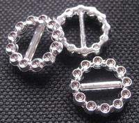 Gesp - zilverkleur 16 mm