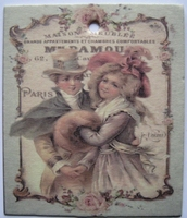 Gift card  7 x 6 cm