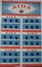 36 Drukknopen - Zwart 6 mm