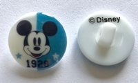 Walt Disney - knoop 18 mm
