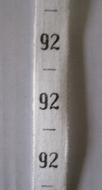measure - ribbon maat 92