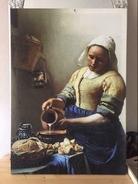 Melkmeisje van oude meester Johannes Vermeer