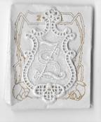 6 Monogrammen S.Z. 4,5 x 2,5 cm