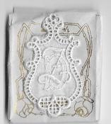 6 Monogrammen D.Z. 4,5 x 2,5 cm