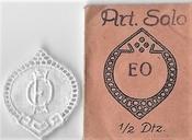 6 Monogrammen - K.Z. - Z.K. 37 x 29 cm