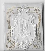 6 Monogrammen U.Z. 4,5 x 2,5 cm