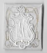 6 Monogrammen R.W. 4,5 x 2,5 cm
