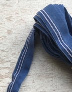 Elastiek - blauw (3 mtr) 12 mm