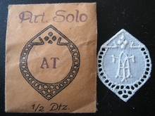 6 Monogrammen - N.N. 29 x 24 mm