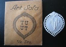 6 Monogrammen - C.J. - J.C. 29 x 24 mm