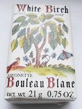 White Birch 5,5 x 3,5 cm
