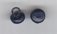 Button - darkblue 9 mm