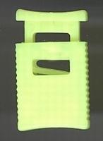 Koordsluiting - geel 32 x 18 mm