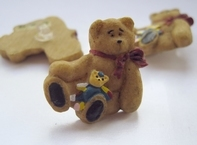 Bear with Patchwork Bear 5342 € 0,30 24 x 25 mm