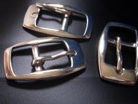 gesp - zilverkleur 40 x 26 mm