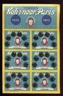 36 Drukknopen - Zwart 7 mm