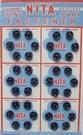 36 Drukknopen - Zwart 8,5 mm
