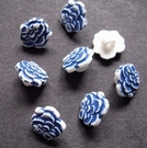 Flower - button 11 mm