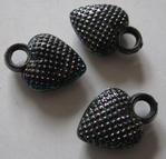 Heart - Button 13 x 18 mm