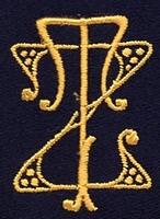 Monogram Z.T. 4 x 3 cm
