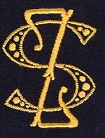 Monogram S.Z. 4 x 3 cm