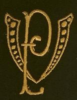 Monogram V.P. 4 x 3 cm
