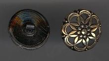 knoop - goudkleur 13 mm