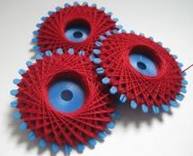 Iron yarn - red