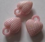 Heart - Button 12 x 11 mm