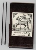 Needles no 40 7,5 cm lang