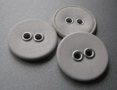 Linnen knoop 15,5 mm