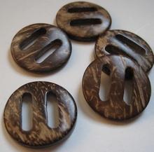 H - Kokosnootknoop 30 mm