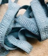 Elastiek - licht blauw (2,5 mtr) 16 mm